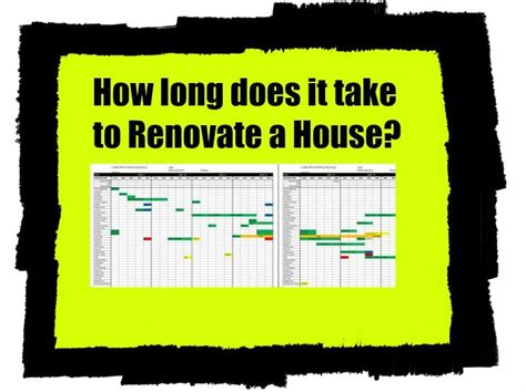 How Long Does It Take To Do An Onbre | how long does it take to do a house renovation home