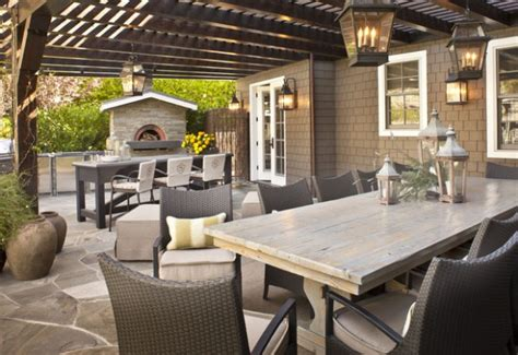 great outdoor room 16 great outdoor dining room ideas for relaxed alfresco