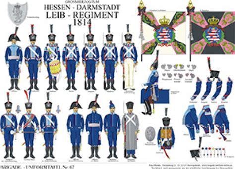 tafel darmstadt tafel 67 gro 223 herzogtum hessen darmstadt leib regiment