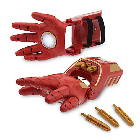 iron man repulsor gloves small toys disney store