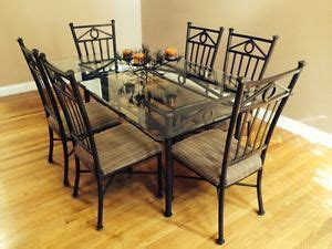 pier one wrought iron table and chairs pier 1 wrought iron and glass dining table and 4 chairs
