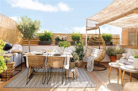 Eclairage Exterieur Terrasse 1469 by Decoration Terrasse Plantes Gallery Of With Dcorer Une