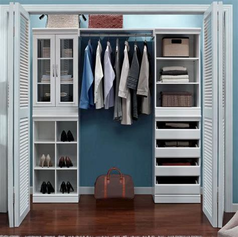 closet organization system white at menards 174