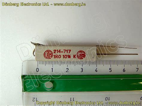 buy resistors dublin resistor 1 ohms 9w ceramic resistors from d 246 nberg
