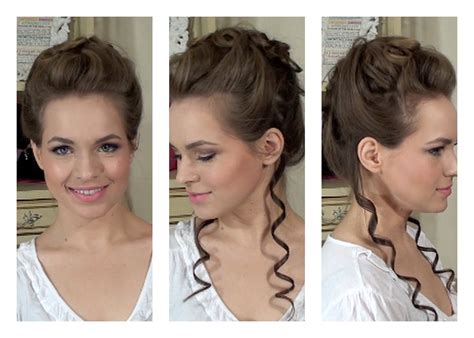 1800s hairstyles women with long hair marie antoinette updo youtube