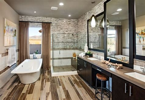 A Beautiful Master Bathroom With Neutral Colors Toll Toll Brothers Bathrooms