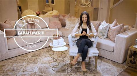 farah merhi inspire  home decor  starter story