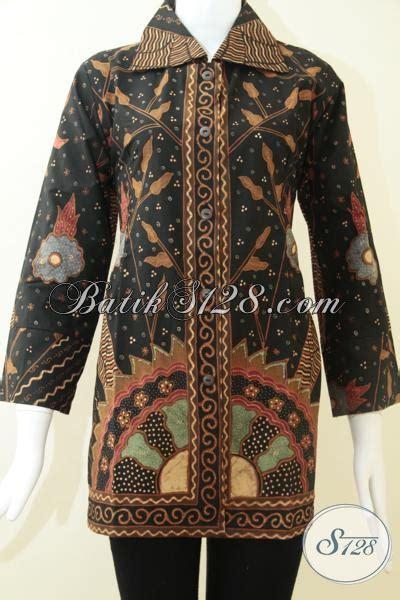 Batik Kesik Soga trend busana batik tulis wanita karir busana batik tulis warna soga jawa bls1220ts l toko