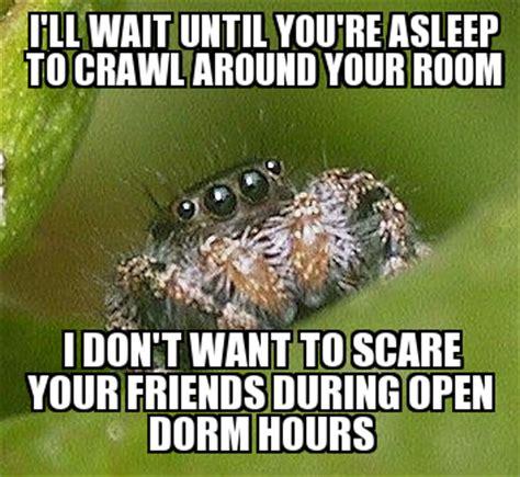 Shower Spider Meme - meme app text weknowmemes