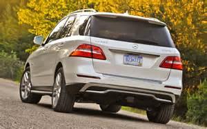Mercedes Ml Bluetec 2012 Mercedes Ml350 4matic And Bluetec Test