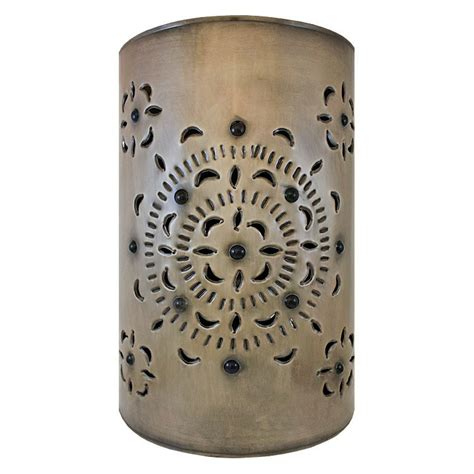 Tin Wall Sconce Mexican Tin Lighting Collection Merida Wall Sconce Lamw16