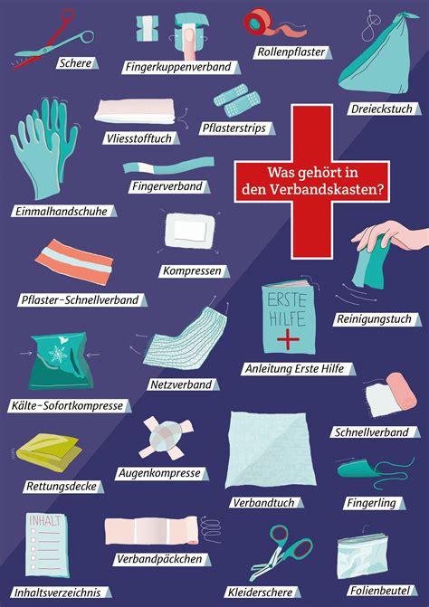 Kfz Verbandkasten Inhalt by Verbandskasten Unfall Verkehrsrecht 2018