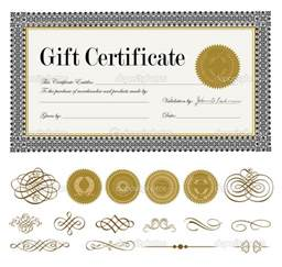 Printable Blank Gift Certificate Template by Printable Gift Certificates Borders Blank Certificates