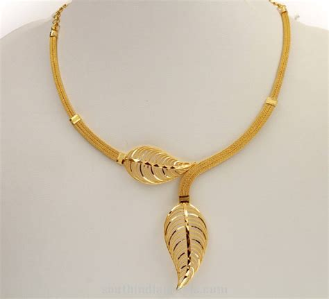 gold necklace designs with price images