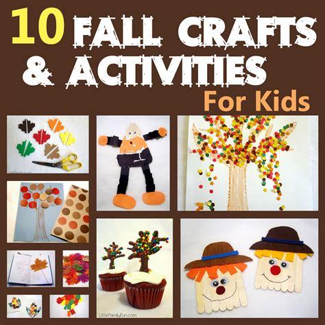 fall craft activities for family fall preschool activities