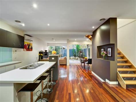 open plan kitchen designs modern open plan kitchen design using laminate kitchen