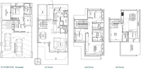 eco floor plan townhouse clift no lift