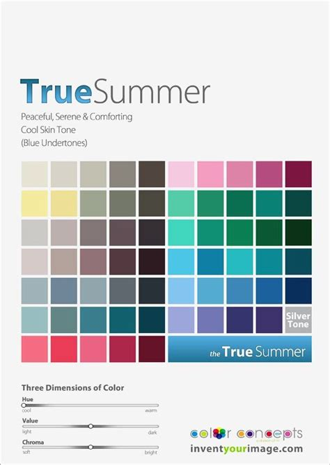 true summer pinterest true summer color palette true summer book of colors