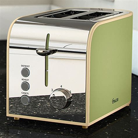Retro Green Toaster swan st17020gn vintage green toaster unique home living