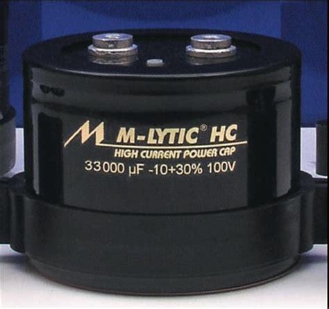 mundorf mlytic hc capacitors mundorf mlytic hc electrolytic capacitors