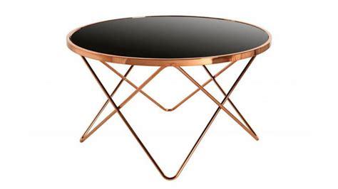 plaque de verre 3049 table d appoint et cuivre