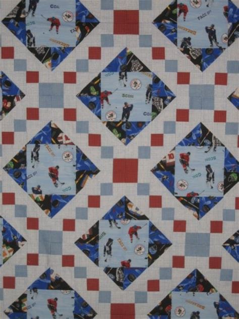 Hockey Quilt Patterns by 17 Best Images About Quilts Boys On Triangle