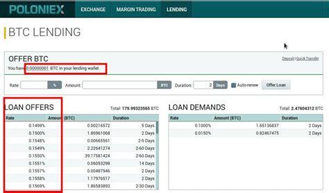 bitcoin lending best bitcoin exchange all about bitcoin lending