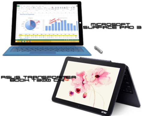 Asus Laptop Vs Surface Pro 3 hybrid laptops faceoff asus transformer book t300 chi vs microsoft surface pro 3 laptop hub