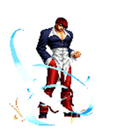 imagenes gif de king of fighters 2002 movimientos y poderes de iori yagami