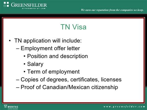 Employment Letter For Tn Visa Healthcare Workers 09