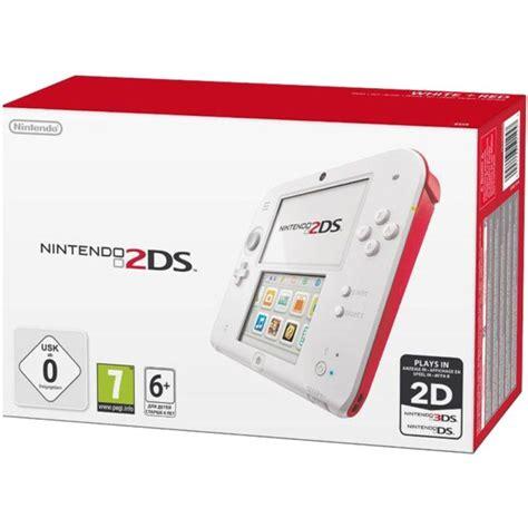 nintendo 2ds console nintendo 2ds console white nintendo uk store