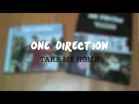 one direction take me home unboxing standard and
