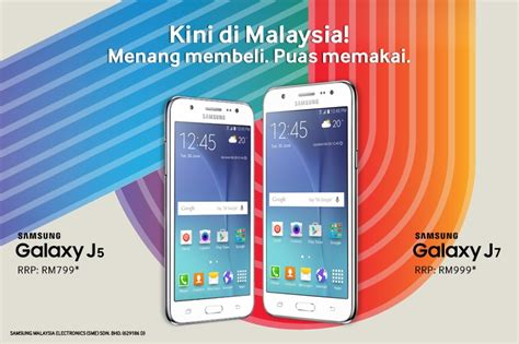 Harga Samsung J7 Rm samsung announces new galaxy j5 and j7 for malaysian