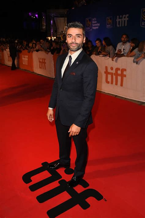 oscar isaac cast shine in new mini series show me a oscar isaac at tiff for the promise and with garrett