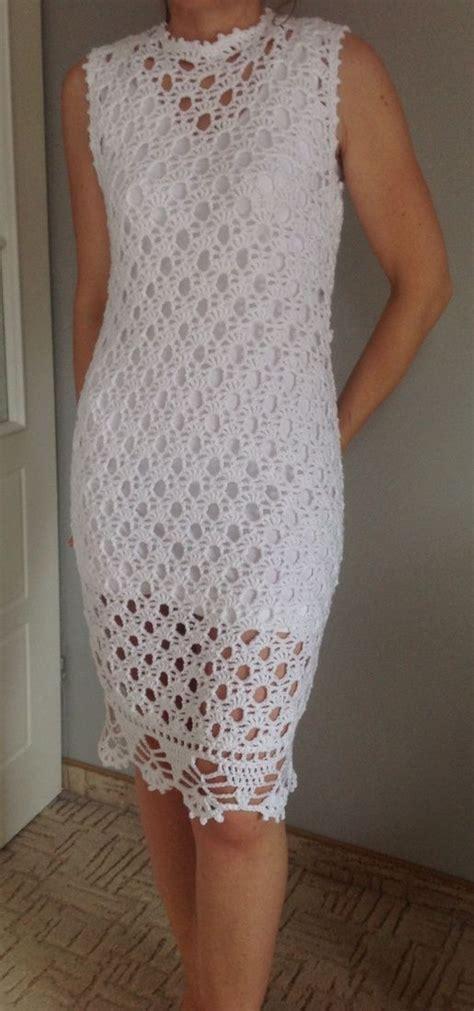 crochet pattern little white dress beautiful white crochet dress lovely pattern needles