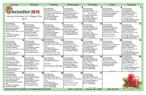 new year activities for nursing homes 100 ideas nursing home activity calendars on www