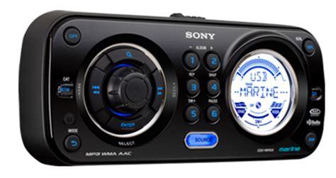 sony boat stereo bluetooth marine audio lotts auto stereo