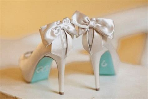 Wedding Shoes With Blue Soles by Make Your Something Blue Something Meaningful