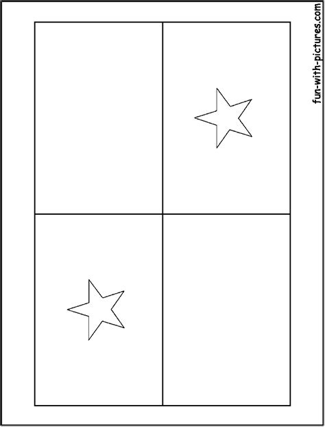 Panama Flag Coloring Page free flag of panama coloring pages