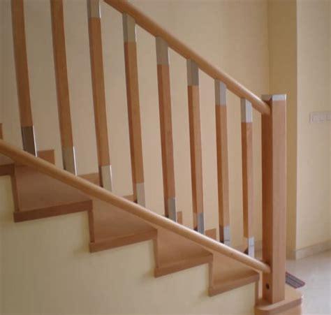 barandilla en madera en acero inoxidable mistral escaleras yuste wooden railing