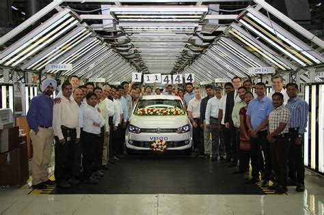 volkswagen chakan vw india s plant produces record number of cars in 2014