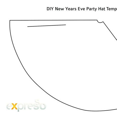 diy new years eve party hat template pdf docdroid