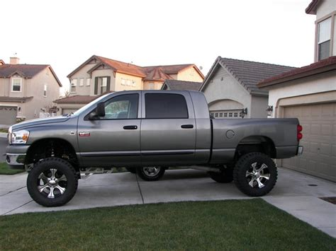 lifted dodge ram  mega cab car wallpapers  prices