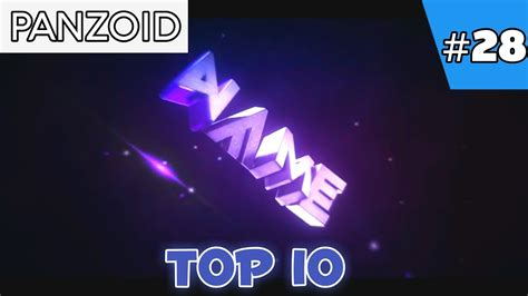 Top 10 Panzoid Intro Templates 2017 Free Download Youtube Panzoid Intro Templates