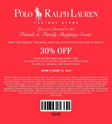 printable coupons polo outlet marein 15 ralph lauren polo coupons printable 2015