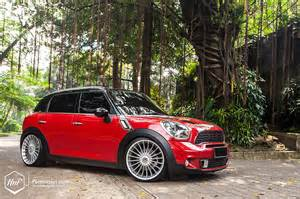 Mini Cooper Countryman Mini Countryman Jumps On Alpina Wheels In Indonesia