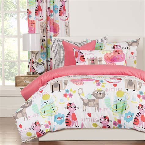 pictures of bedding purrty cat by crayola bedding beddingsuperstore com
