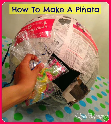 How To Make A Paper Pinata - how to make a pinata