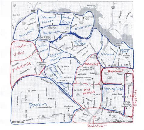 jacksonville fl map investor maps locklear real estate partners real estate