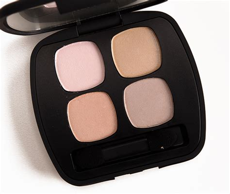 Eyeshadow Zones bareminerals comfort zone ready eyeshadow review photos swatches